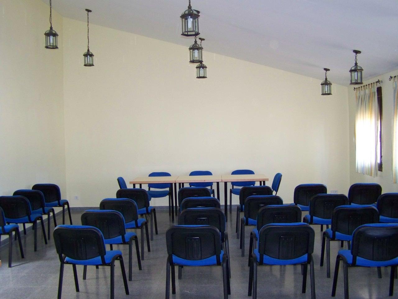 Sala de actividades y reuniones