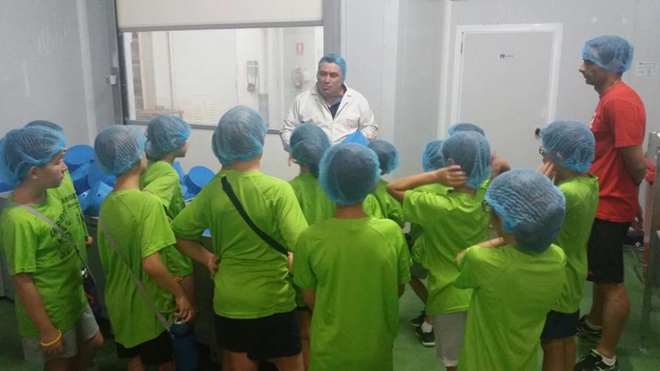 Visita a la queseria